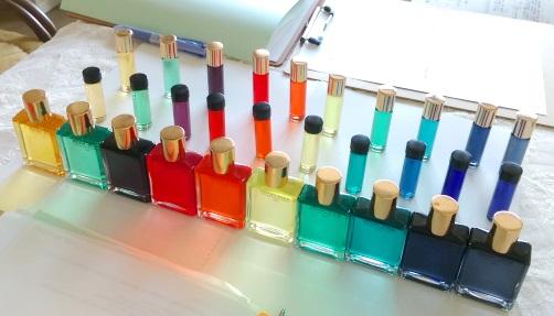 カラーセラピー講座でした。
